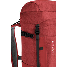Ortovox Traverse 28 S Alpine Backpack Dark Blood Blend